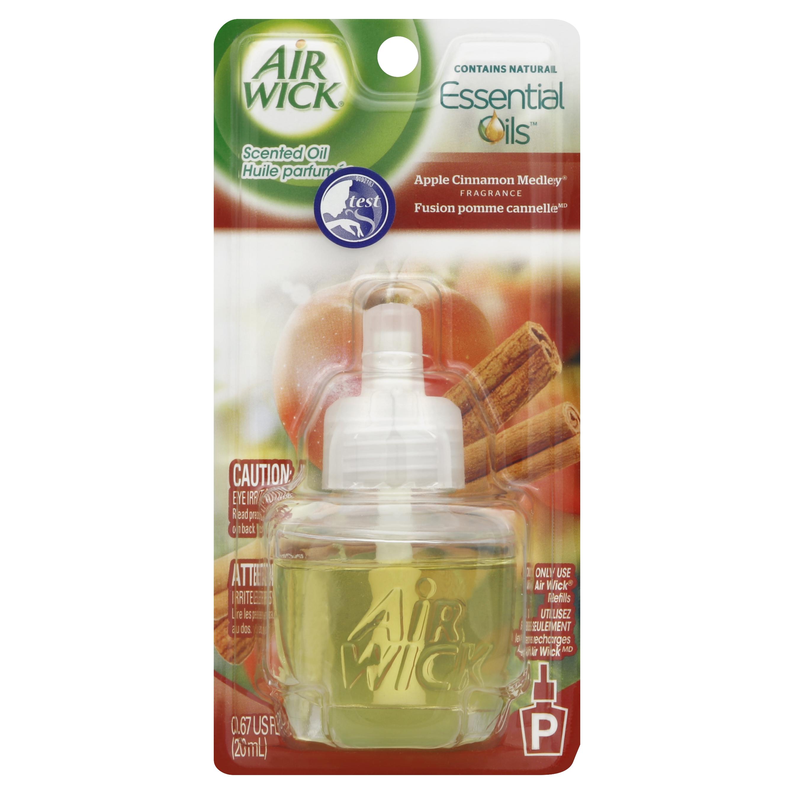 Image of Air Wick Aqua Essences Scented Oil Refill Apple Cinnamon Medley Scented Oil Refill Single, 1 ct