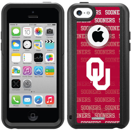 Oklahoma Repeating Design on OtterBox Commuter Series Case for Apple iPhone 5c