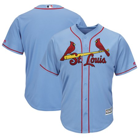 St. Louis Cardinals Majestic Alternate Cool Base Team Jersey - Horizon Blue