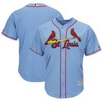 a7858505a Product Image St. Louis Cardinals Majestic Alternate Cool Base Team Jersey  - Horizon Blue