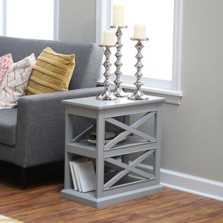 Hampton Side Table (Belham Living Hampton Chair Side Table - Gray )