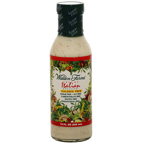 Walden Farms Creamy Italian Dressing, 12 oz (Pack of 6)
