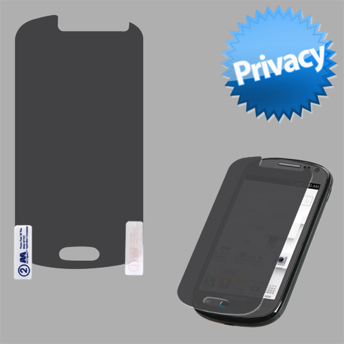 Privacy Viewer Guard LCD Screen Cover Film Protector SAMSUNG T599 Galaxy Exhibit