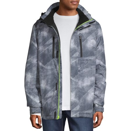 Iceburg Men's Crater Insulated Board Jacket, up to Size 3XL (Mens Snowmobile Jackets 3xl)