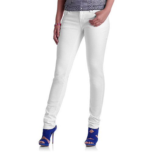 Red Rivet Juniors Embellished White Skinny Jeans