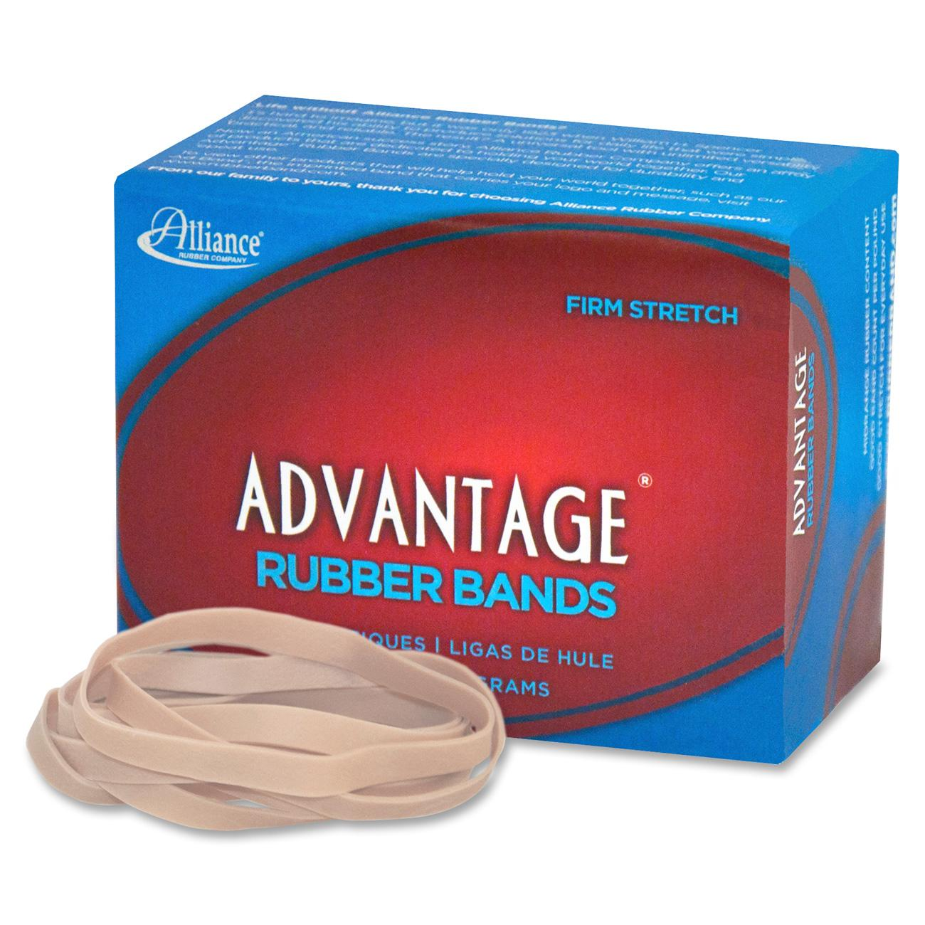 "Alliance, Advantage Rubber Bands, #64, 3 1/2"" x 1/4"", 1/4 lb. box"
