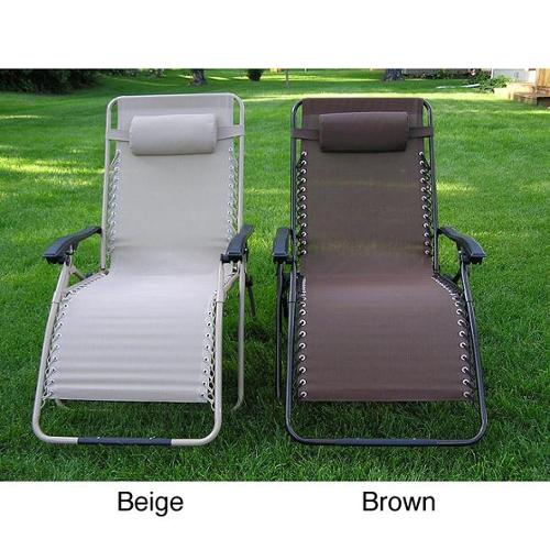 Zero Gravity Extra Wide Recliner Lounge Chair Extra Wider Beige Zero Gravity Recliner Chair Folding Lounge Chair