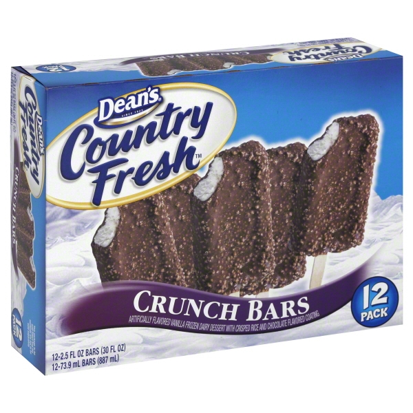 Dean's Country Fresh Crunch Bars, 12 Count