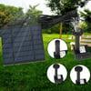 Solar Power Fountain Pool Water Pump Garden Sun Plants Watering Outdoor