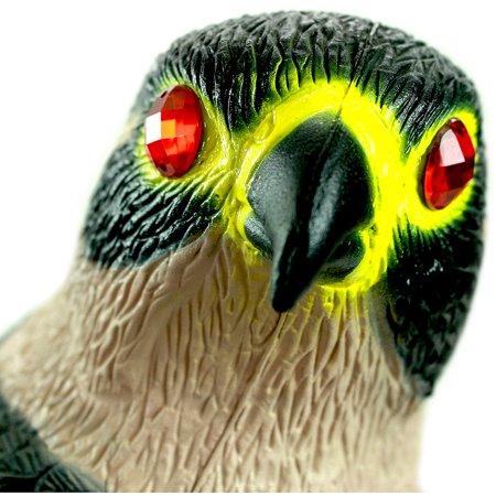 Bird-X Peregrine Falcon Decoy with Reflective Eyes