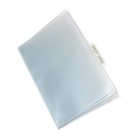 Vinyl Window Inserts for French Purse and Billfold Wallets, Clear