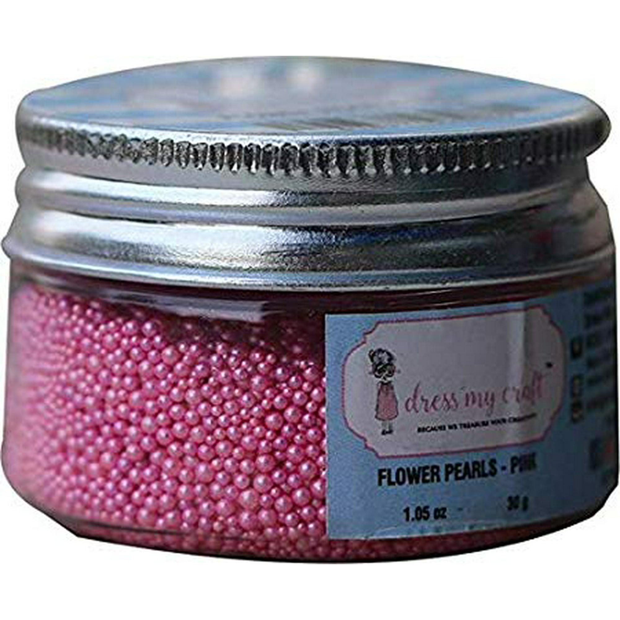 Dress My Craft Flower Pearls 1Oz-Pink | Walmart Canada