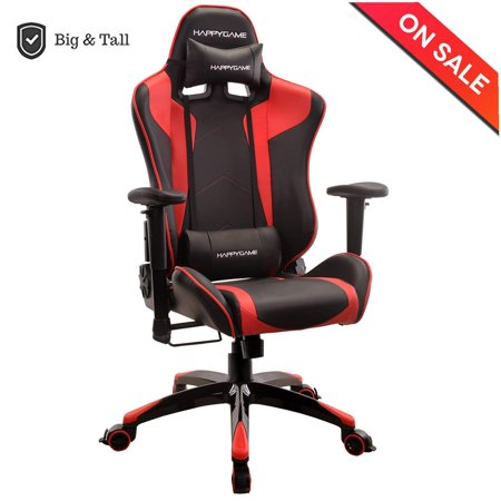 Hy Oversized 400 Lbs Capacity Racing Gaming Chair High Back Ergonomic Swivel Computer Chairs Executive Office