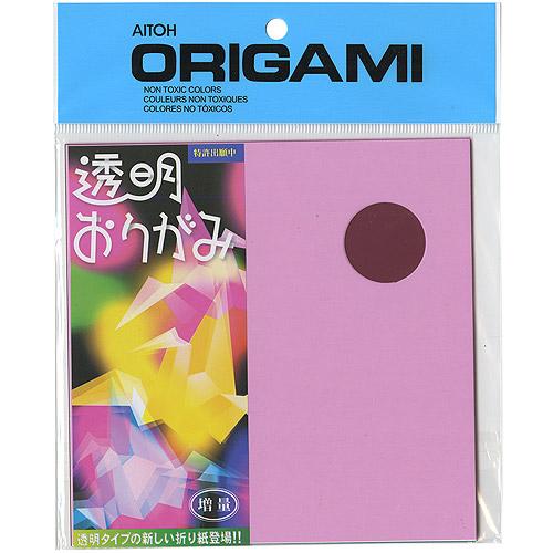 """Origami Paper 5.875"""" x 5.875"""", 21pk, Transparent Plastic"""