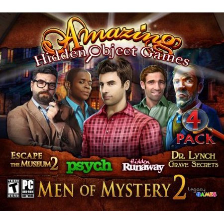 Amazing Hidden Object Games Men of Mystery 2 (PC DVD), 4 (Breath Of The Wild Amiibo 4 Pack)