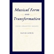 Musical Form and Transformation - eBook