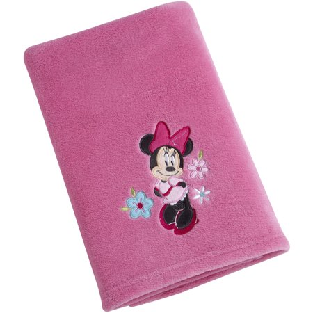 Baby Minnie Mouse Table Covers (Disney Character Baby Blanket, Minnie)