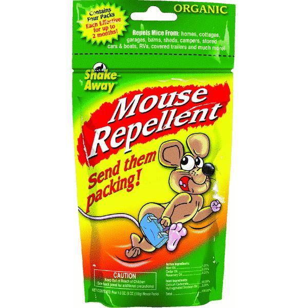 Shake Away Organic Mouse Animal Repellent
