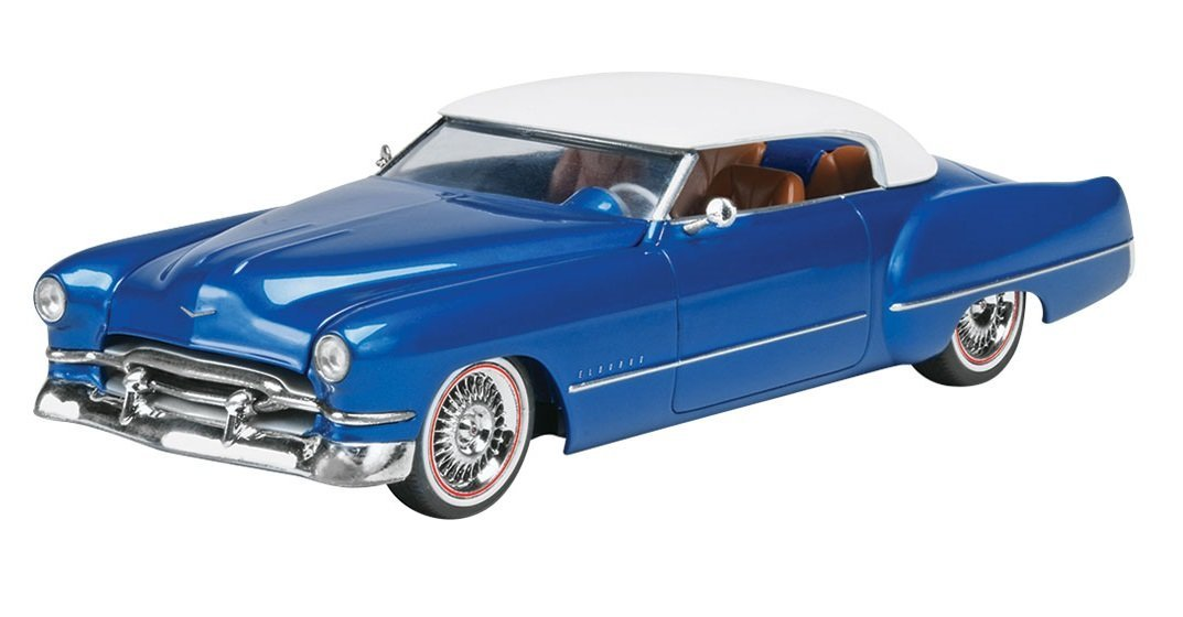 Custom Cadillac Eldorado Model Kit Building By Revell by