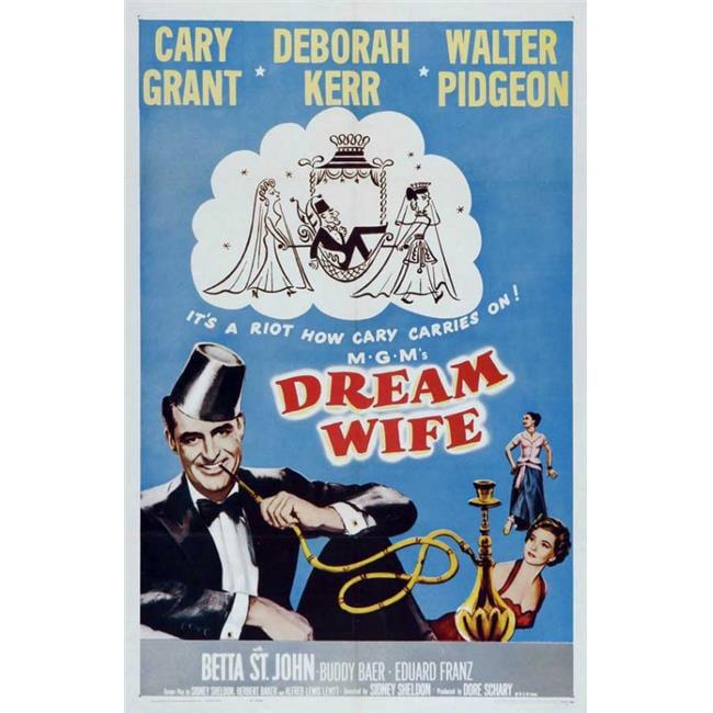 Posterazzi MOVAJ3183 Dream Wife Movie Poster - 27 x 40 in. - image 1 de 1