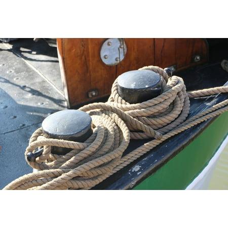 LAMINATED POSTER Ship Knot Thaw Bollard Sail Port Investors Poster Print 24 x 36