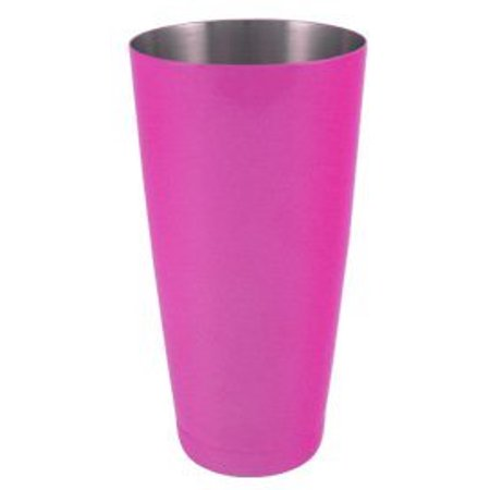"""Cocktail Shaker Weighted 28 oz. Powder Coated Neon Pink by """"Barproducts.com, Inc."""""""