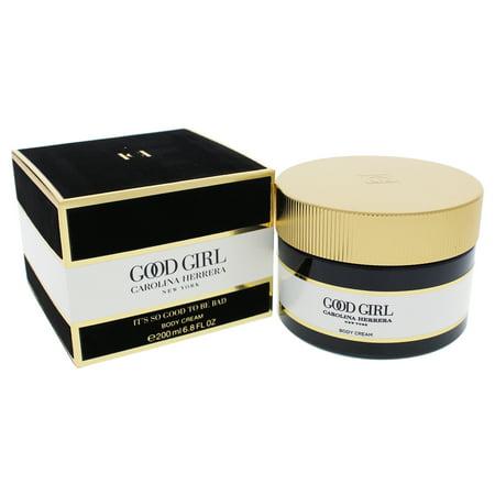 Carolina Herrera Good Girl Body Lotion Cream for Women, 6.8 Oz