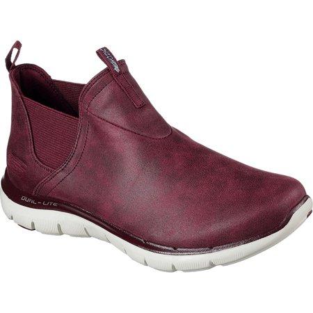 Skechers Womens 12769 Hight Top Slip On Fashion Sneaker
