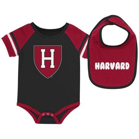 Harvard University Baby Bodysuit and Bib Set Infant Jersey ()