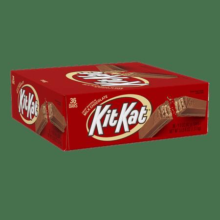 Kit Kat, Chocolate Candy Standard Bar Box, 1.5 oz (Pack of 36)