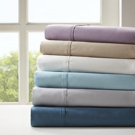 Comfort Classics 800 Thread Count Cotton Blend 6 Piece Sheet (Aqua Cotton Blend)