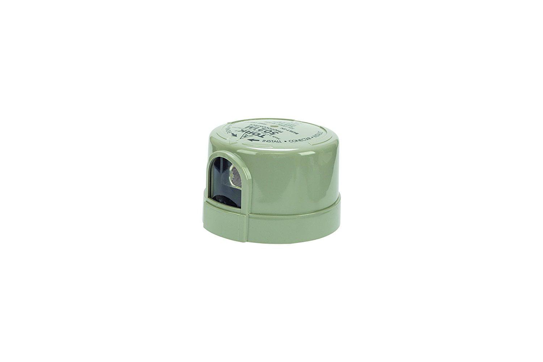 5000M Series Delayed Response Utility Grade Mov Surge Arrestor Photocontrol Grey 105-130VAC Voltage 1000W Power 1800VA Ballast 1//2 Light Sensor