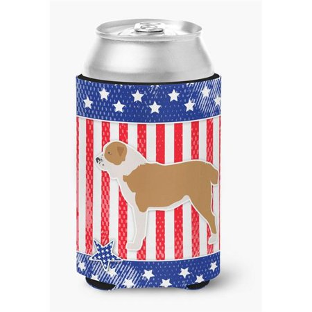 USA Patriotic Central Asian Shepherd Dog Can or Bottle Hugger - image 1 of 1
