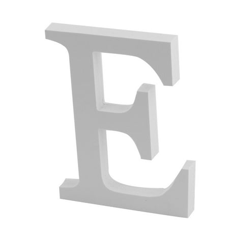Letter English Alphabet - Unique Bargains Wedding Party Home English E Letter Alphabet DIY Wall Decor