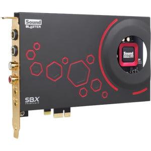Creative Sound Blaster ZxR PCIe Sound Card 70SB151000000