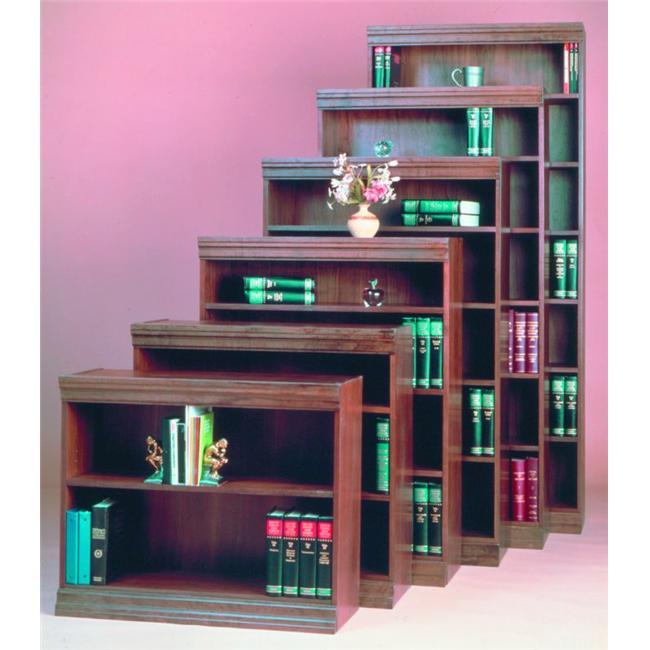 Norsons JE30EXC WB 1 Shelf Jefferson Bookcases Lumbercore - Walnut