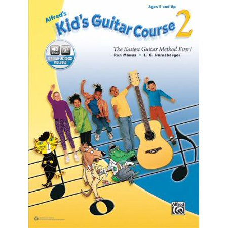 Alfreds Kids Guitar Course  The Easiest Guitar Method Ever  Contains Online Audio