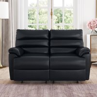 Deals on Relax A Lounger Bristol Recliner Loveseat in Faux Leather