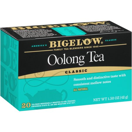 (6 Boxes) Bigelow, Oolong, Tea Bags, 20 Ct (Best Oolong Tea Brand)