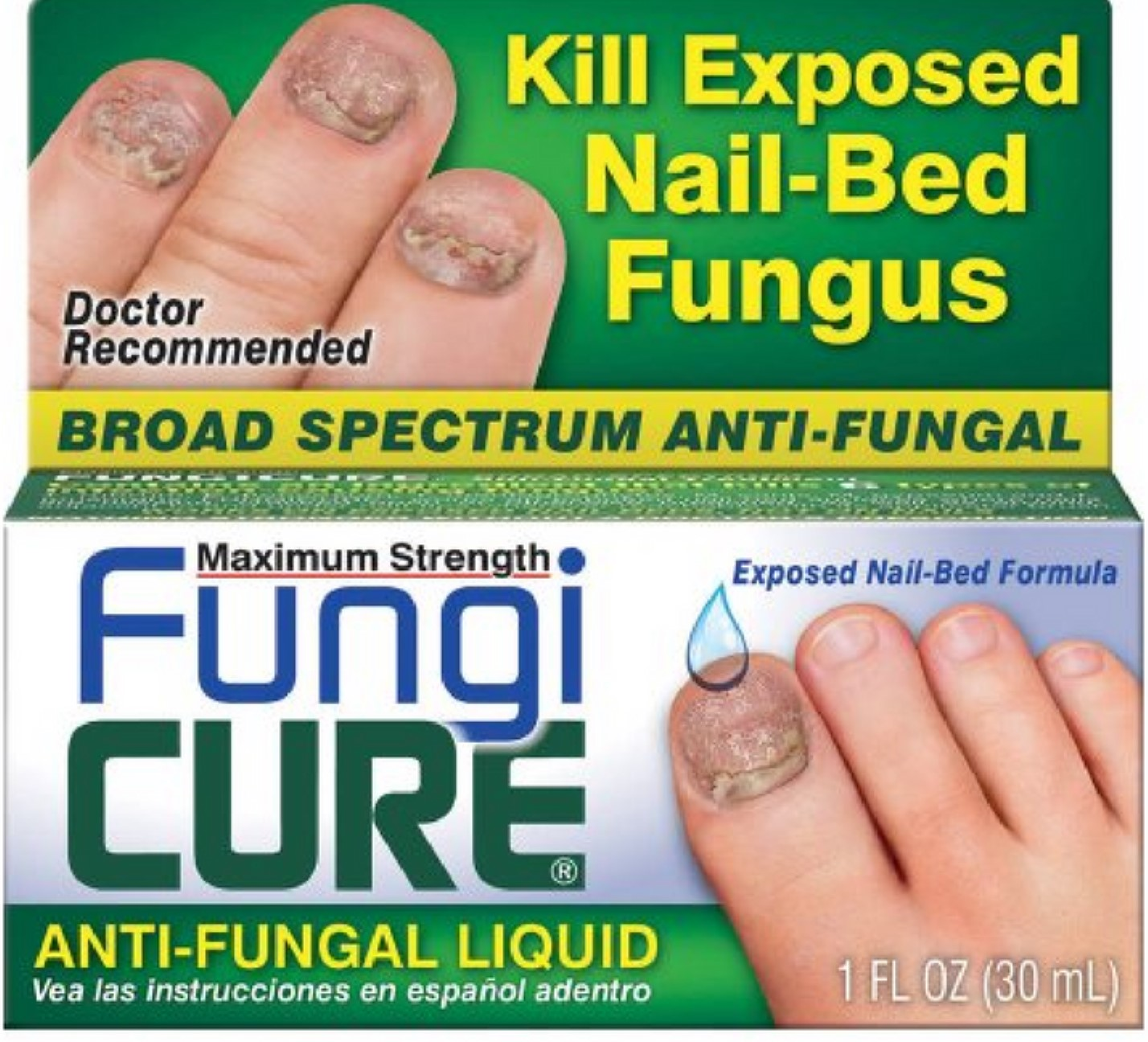 2 Pack - FUNGICURE Anti-Fungal Liquid Maximum Strength 30 mL