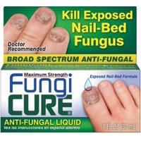 FUNGICURE Anti-Fungal Liquid Maximum Strength 30 mL (Pack of 4)
