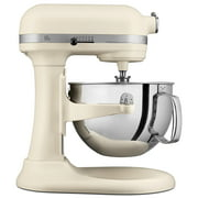 KitchenAid Pro KP26M1XFL 600 Series 6 Quart Bowl-Lift Stand Mixer, Matte Fresh Linen - Closeout