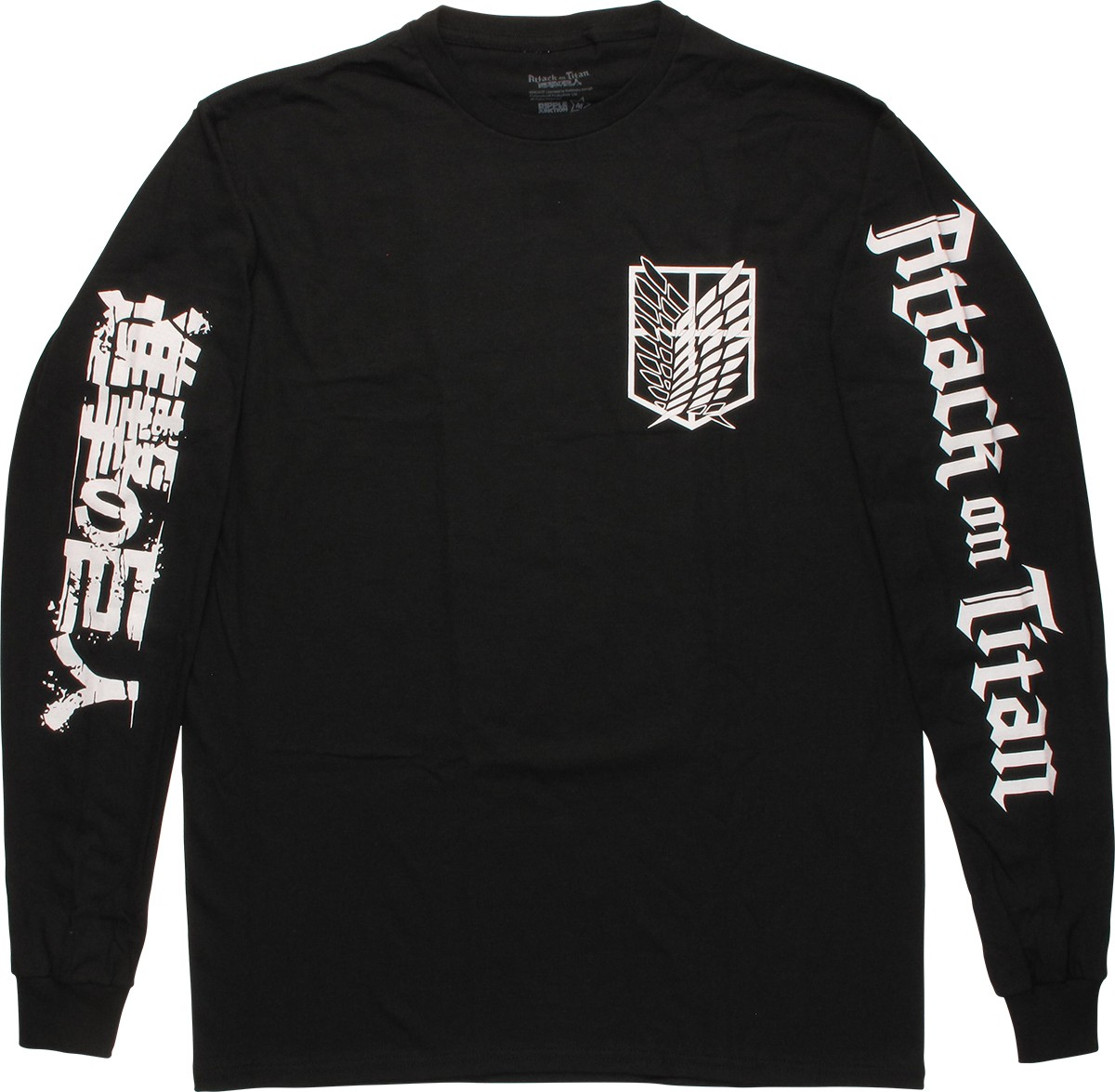 Attack on Titan Scout Shield Long Sleeve T-Shirt - Walmart.com