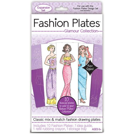 Fashion Plates Toy: Glamour Collection Expansion - Fashion Angels.com