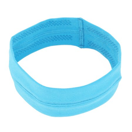 Non Slip Stretch Headband (Athletic Silicone Elastic Non-slip Sports Headband Headwrap Fluorescent )