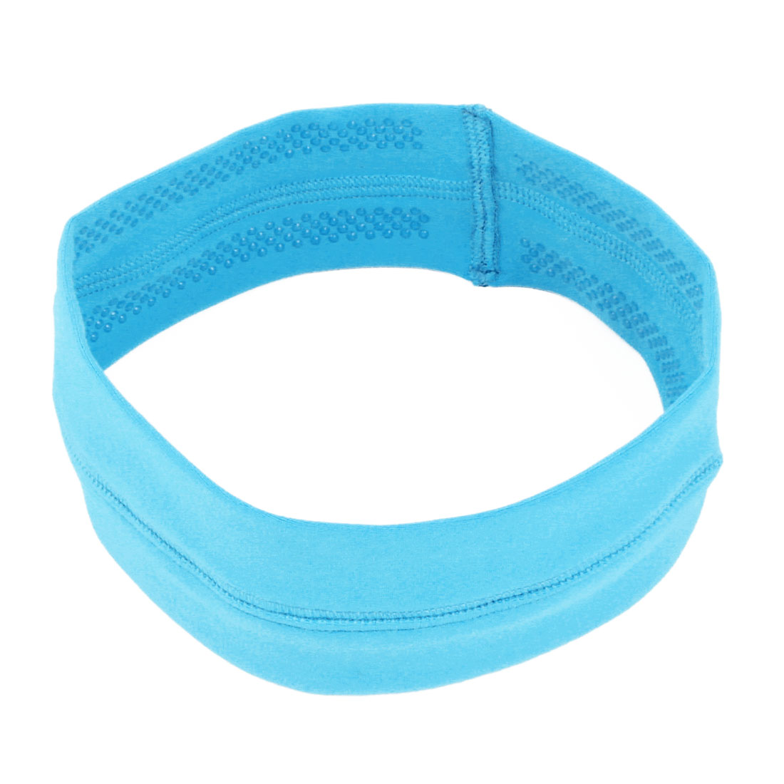 Athletic Silicone Elastic Non-slip Sports Headband Headwrap Fluorescent
