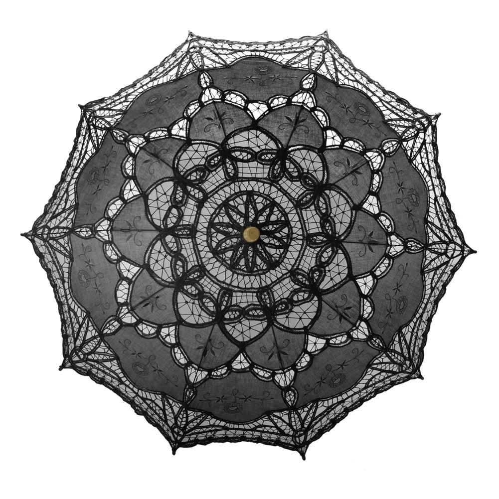 Angel TopTie Wedding Lace Parasol Umbrella Victorian Lady...