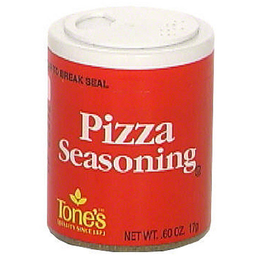 Tone's Pizza Seasoning, 0.60 oz (Pack of 6)