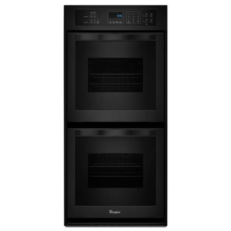 Whirlpool 24 Inch Double Electric Wall Oven Black