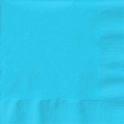 Creative Expressions Beverage Napkins - 50-Pack, Pastel Blue